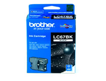 BROTHER LC-67BK / LC-1100BK Siyah Kartu�