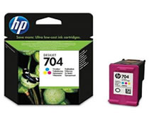 HP 704 Renkli Kartuş